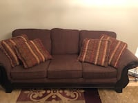 Table set and 3 seater couch  Hamilton, L9B 2G6