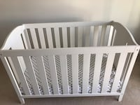 Look like brand-new, in very good condition, this price include crib, mattress ,crib protection and 2 mattress covers Surrey, V3Z 0W6