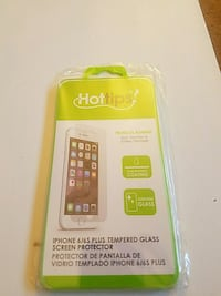 Tempered glass screen protector for iPhone 6/6plus