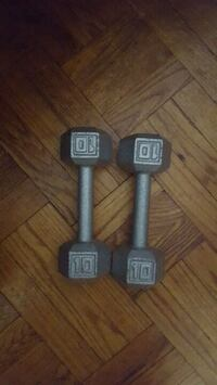 Two Weights 10 lbs each Brooklyn, 11233