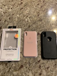 Three BRAND NEW iPhone XS Max cases Washington, 20006