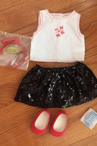 American Girl Sequin Skirt Outfit Herndon, 20171