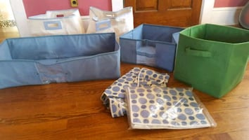 Cloth Storage Boxes; Organization Bins