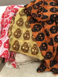 3 skull scarves 25 for the 3 Hampstead, H3X 3G3