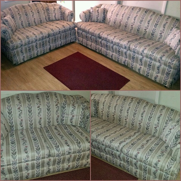 •Great Condition•Couch+Love Seat w/4 Pillows
