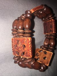 Wooden Bead Bracelet  Joshua Tree, 92252