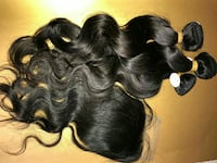 women's black hair extensions Silver Spring