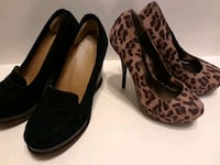 pair of black-and-brown leopard print pumps Concord, 94519