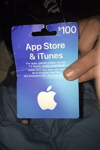 $100 iTunes App Store gift card