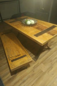 Reclaimed Wood Table and bench  Toronto, M4E 1T2