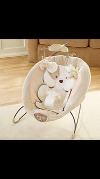 baby's white and gray Fisher-Price bouncer Warminster, 18974