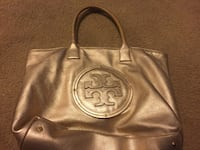 Gold Tory Burch Leather Tote Fresno, 93720