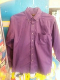 purple button-up long-sleeved shirt Bedford, 76021