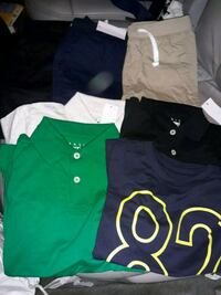 Boys clothes size small 4shirts and 3shorts Glen Burnie, 21060
