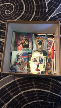 Football cards box full of them  Pflugerville, 78660