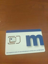 Metro monthly service card --new service active Wichita, 67211