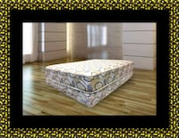 Queen plush 2pc mattress and box spring 47 km
