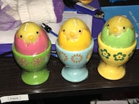 Easter Chick Candles w/ Egg Holders Porterville, 93257