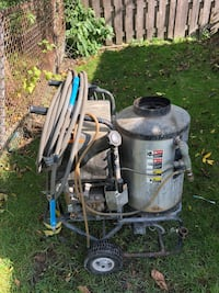 Gray and black pressure washer null