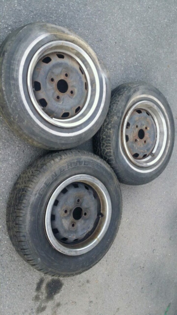 Steel Wheels For Sale >> Used Mazda Rx3 Original Steel Wheels For Sale In Nanuet Letgo