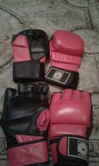Boxing/Kung Fu gloves.  554 km