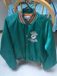 Miami dolphins football jacket