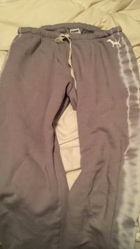 Pink brand Gray and white sweats