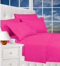 CHRISTMAS SALE Brand New - hot Pink Sheet Sets in king & Queen  Aurora, L4G 6T5