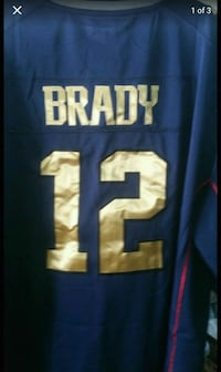 Tom Brady limited edition gold jersey 2XL  Brunswick, 44212