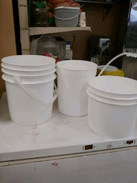Good grade buckets for sale Vancouver