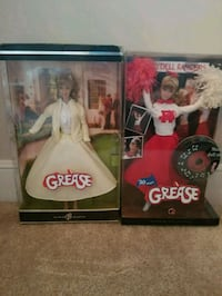 Two Grease Barbie Collectors  Columbia