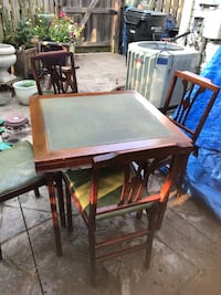 Vintage mid century table and chairs leg o matic Alexandria, 22315