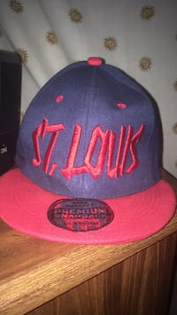 blue and red New York Yankees fitted cap Potosi, 63664