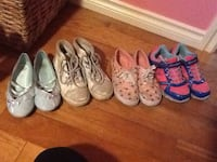 toddler's four pairs of shoes EDMONTON