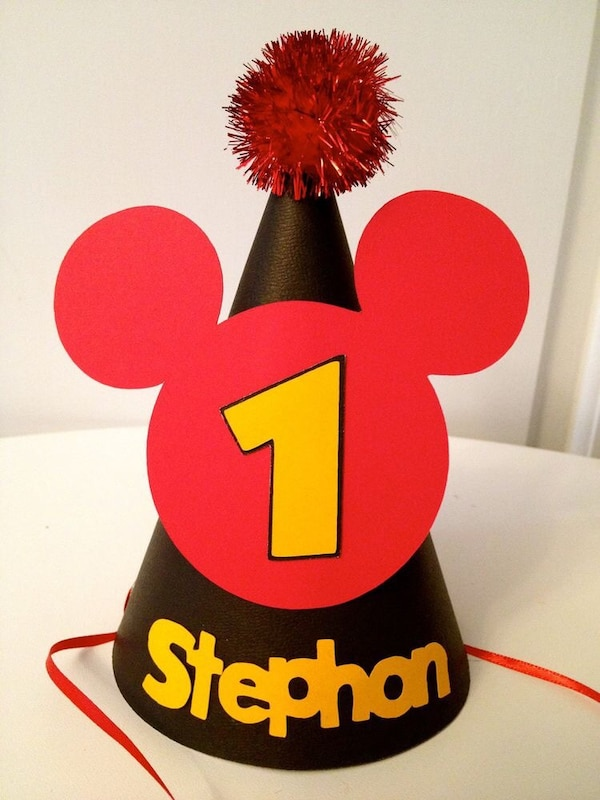 Mickey theme party hat