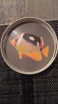 Fish Serving Plate Washington, 20037