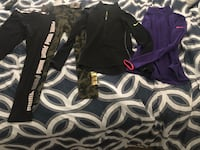 Women's Nike pullover tops and Women's Puma leggings.  Bridgeport, 06608