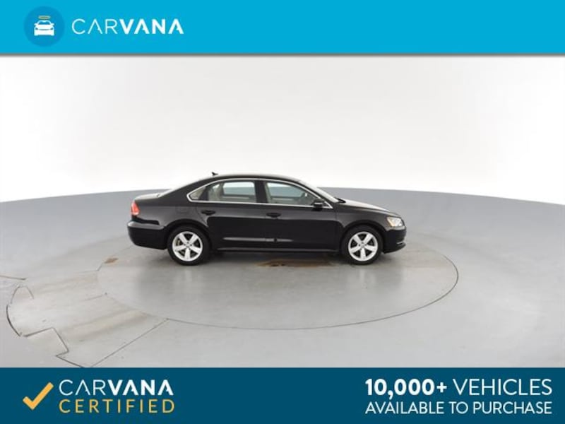 2013 VW Volkswagen Passat sedan TDI SE Sedan 4D BLACK 9