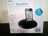 Vivitar Dock Speaker for iPhone, iPod, and other MP3 Devices Oak Grove