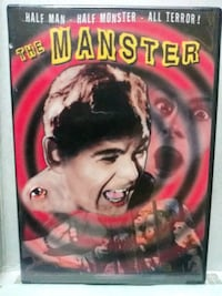 The Manster dvd
