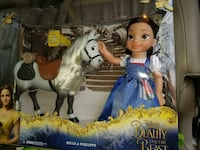 Disney Beauty and the Beast Belle & Philippe doll set Gaithersburg, 20878