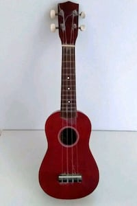 Vintage Mahogany Finish Ukulele by El Degas Japan
