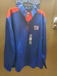 New York Giants pull over 1/3 zipper Elizabeth, 07201