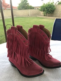 """""""Cowgirl""""  boots for young girls size 11"""