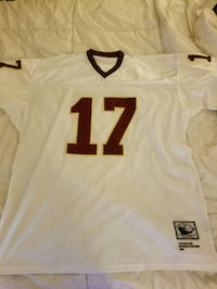 white and red NFL jersey