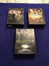 First, Second and Third Seasons Of Dead Wood Box DVD Sets   Calgary, T2M 2P2