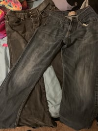 Men's jeans size 34& in guessing 32(see pix) Oklahoma City, 73108
