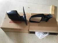 Black 2018 Toyota Tundra sideview mirrors Cape Coral, 33914