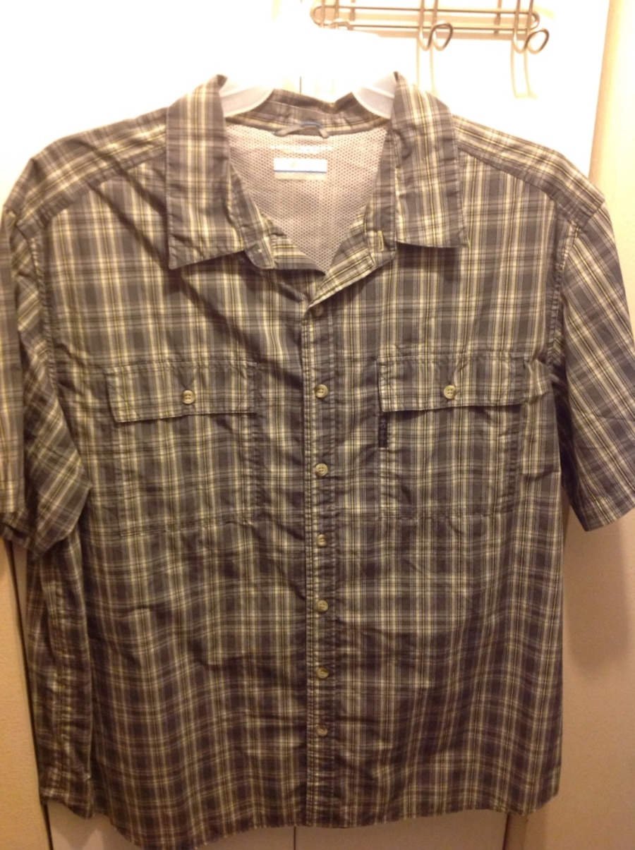 Letgo new columbia fishing shirts xxl xl in valrico fl for Baby fishing shirts columbia