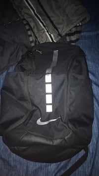 black and white Nike backpack Hamilton, L0R 1W0